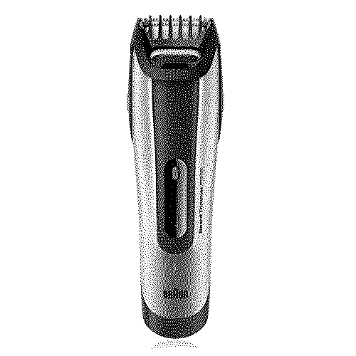 Braun 5090 Beard Trimmer