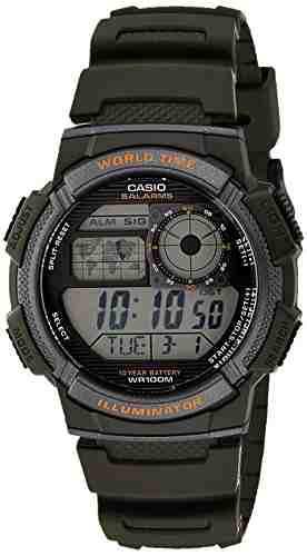 Casio Youth AE-1000W-3AVDF (D119) Digital Grey Dial Men's Watch