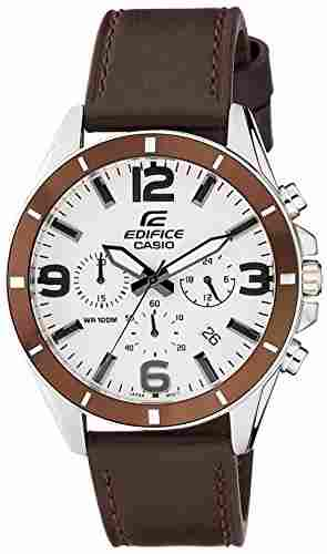Casio Edifice EFR-553L-7BVUDF (EX284) Analog White Dial Men's Watch (EFR-553L-7BVUDF (EX284))