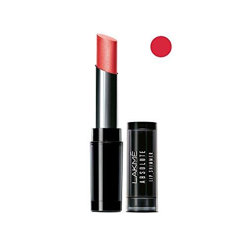 Lakme Absolute Illuminating Lip Shimmer Lipstick, Crimson Blink