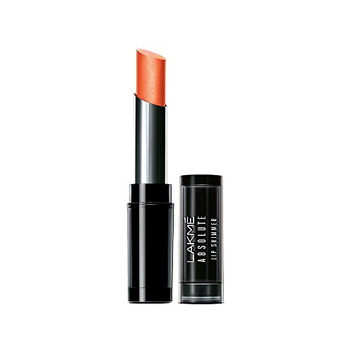 Lakme Absolute Illuminating Lip Shimmer, Orange Glitz 3.6 GM