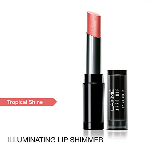Lakme Absolute Illuminating Lip Shimmer Lipstick, Tropical Shine