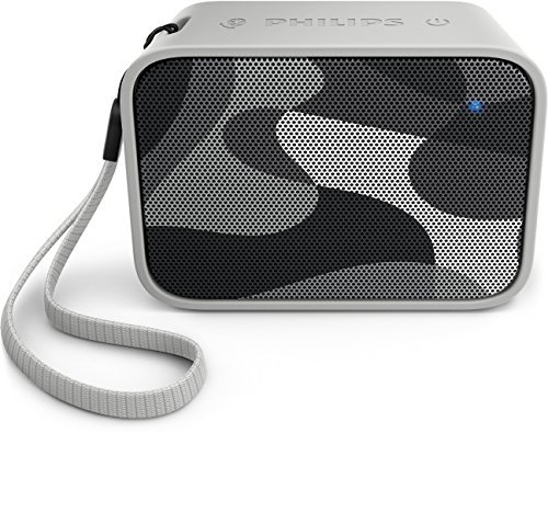 Philips BT110C Splash Proof Wireless Portable Bluetooth Speaker, Camouflage