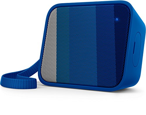 Philips BT110A/00 Portable Bluetooth Speaker, Blue