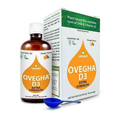 Unived Ovegha D3 Vegan Omega 3 & Vitamin D3 Supplement (800 mg)