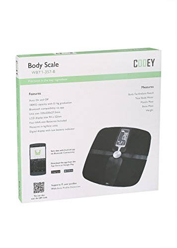 Cooey WBT1 357 B Wireless Body Fat Analyzer