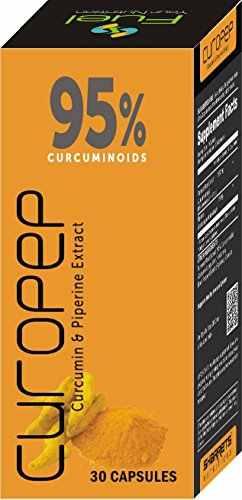 Sharrets Nutritions Curcumin Supplements (60 Capsules)