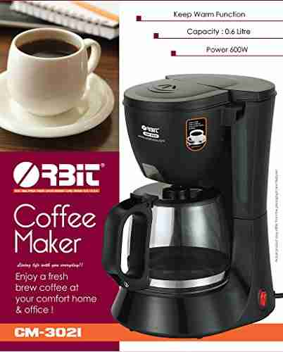 Orbit CM-3021 3 Cups Coffee Maker