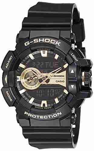 Casio G-Shock GA-400GB-1A9DR (G651) Analog-Digital Gold Dial Men's Watch (GA-400GB-1A9DR (G651))
