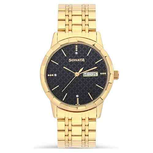 Sonata 7113YM05 Analog Watch