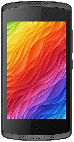 Intex Cloud Gem Plus 4GB Black Mobile