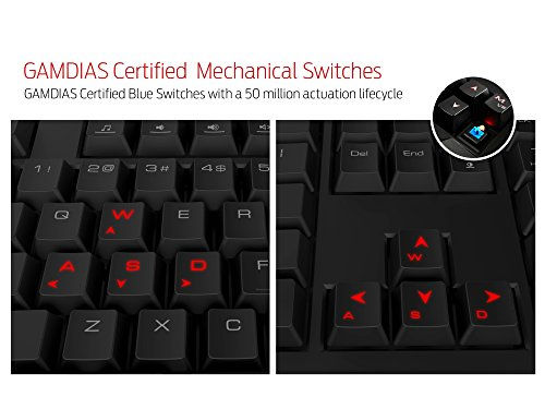 GAMDIAS Hermes GKB3000 Gaming Keyboard