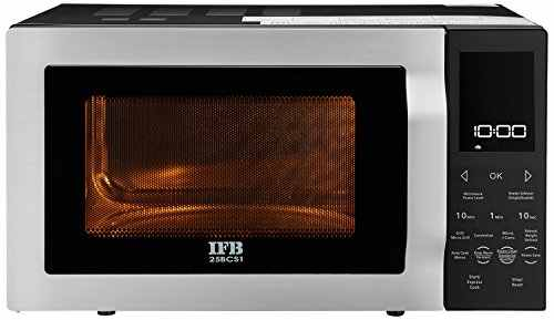 Ifb 25bcs1 25 Ltr Convection Microwave Oven Silver And Black