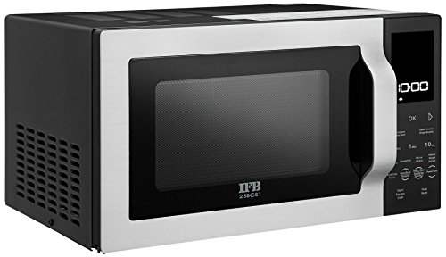 IFB 25BCS1 25 Ltr Convection Microwave Oven - Silver And Black