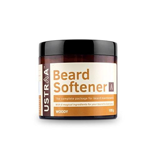 Ustraa Beard Softener Woody, 100 GM