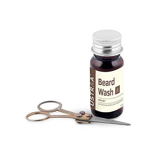 Ustraa by Happily Unmarried Woody Beard Wash 60ml