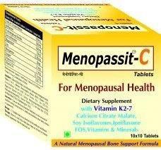 Shrey's Menopassit C Supplements (100 Capsules)