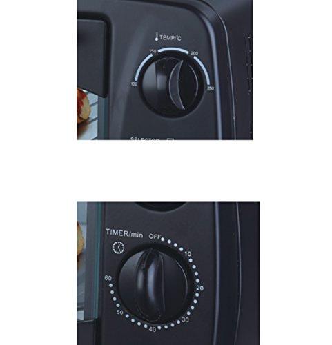 Inalsa Easy Bake 10BK 10 Lts 800 Watt Oven Toaster Grill Black