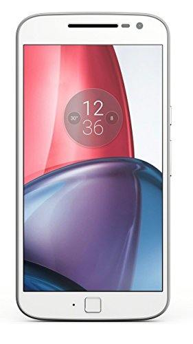 Motorola Moto G4 Plus (Motorola XT1643) 32GB White Mobile