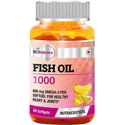 StBotanica Fish Oil 1000 mg (60 Softgels)