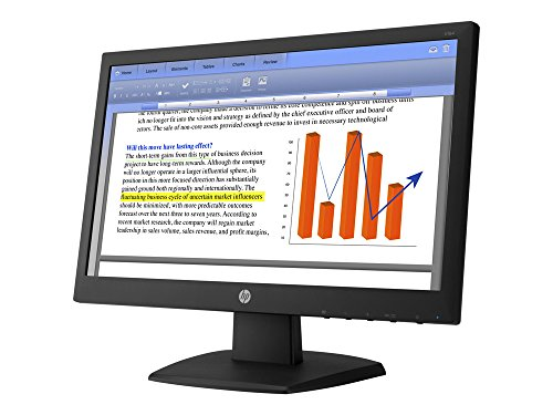 HP V194 18.5-inch HD Monitor with VGA Port, Black