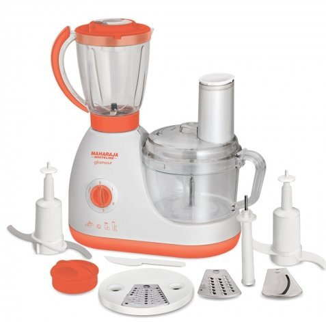 Maharaja Whiteline Glamour 600W Food Processor