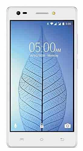 Lava V2 16GB 3GB ROM Icy White Mobile