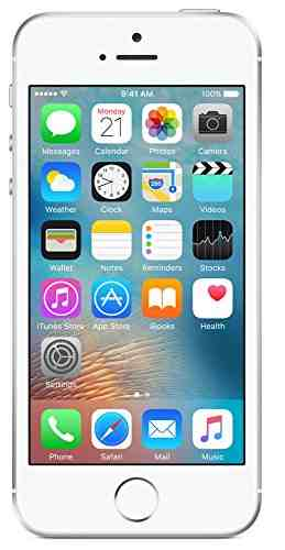 Apple iPhone SE 16GB Silver Mobile