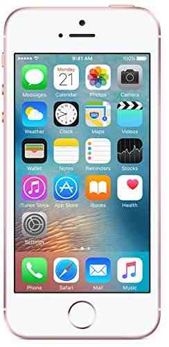 Apple iPhone SE 16GB Rose Gold Mobile