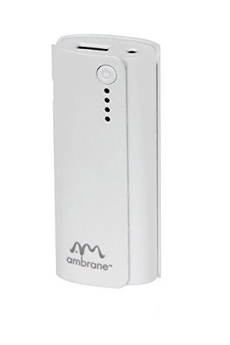Ambrane P-444 4000mAh Power Bank (White)