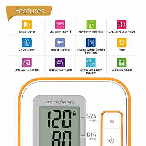 Health Sense BP100 Digital BP Monitor