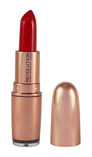 Makeup Revolution London Rose Gold Lipstick, 3.2 GM Red Carpet