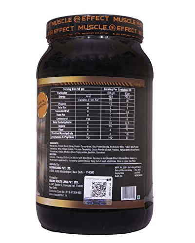 Muscle Effect Ultimate Weight Gainer (1Kg, Chocolate)