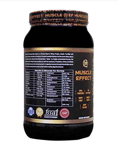HON Muscle Effect Ultimate Mass Gainer (1Kg, Banana)