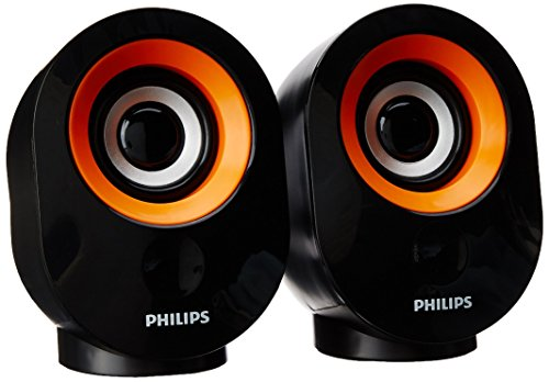 Philips IN-SPA50 Portable USB Speaker, Orange
