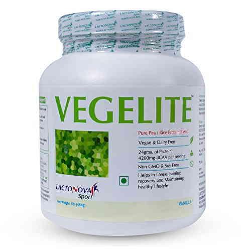 Lactonova Vegelite Powder (454gm, Vanilla)