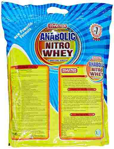 Matrix Nutrition Anabolic Nitro Whey (4Kg, Chocolate)