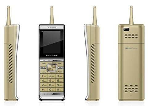 Kechaoda K36 Gold Mobile