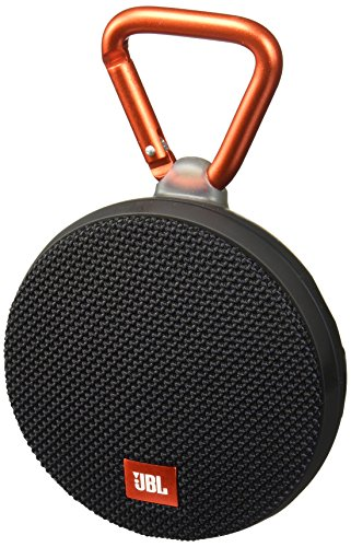 JBL Clip 2 Portable Wireless With Mic Bluetooth Speaker,Black