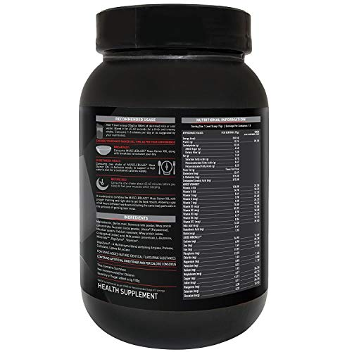 MuscleBlaze Mass Gainer XXL, 1 KG/2.2 LB Chocolate