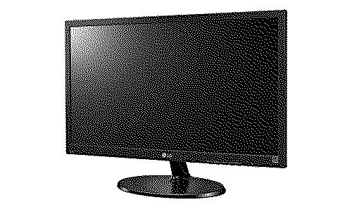 LG 19M38 18.5 inch LED Monitor