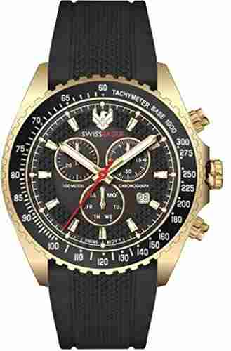 Swiss Eagle SE-9078RS-YG-01 Analog Watch