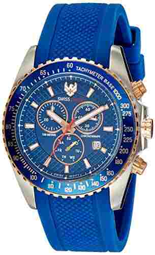 Swiss Eagle SE-9078RS-TTRG-02 Analog Watch