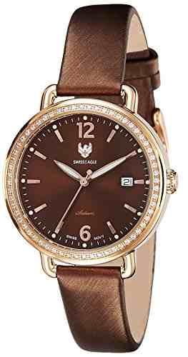 Swiss Eagle SE-9086LS-RG-07 Analog Watch (SE-9086LS-RG-07)