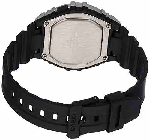 Casio Youth W-216H-1CVDF (I098) Digital Black Dial Men's Watch (W-216H-1CVDF (I098))