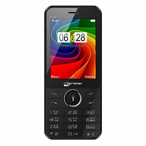 Micromax X913 56 MB Black Mobile