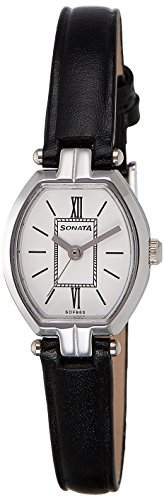 Sonata 8083SL03 Analog White Dial Women's Watch