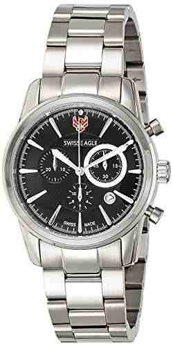 Swiss Eagle SE-9067-11 Analog Watch (SE-9067-11)