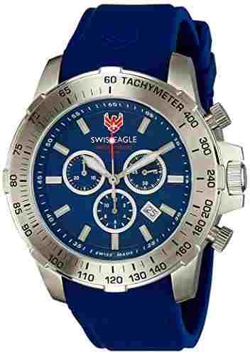 Swiss Eagle SE-9065-03 Analog Watch