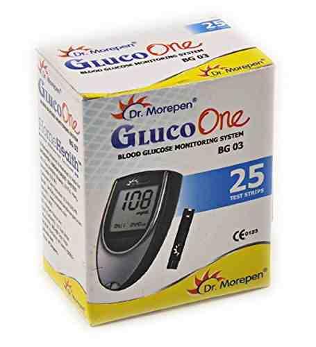 Dr. Morepen BG 03 Gluco One 25 Strips